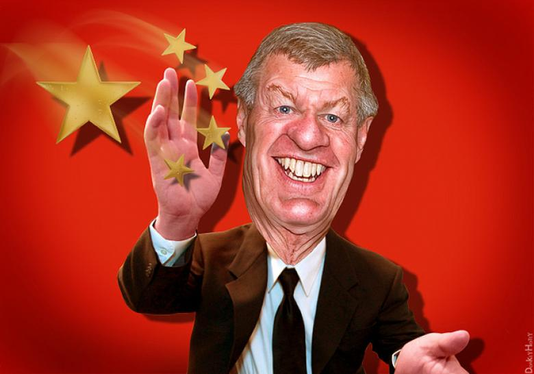Does Ambassador-To-Be Max Baucus Have Any Link To China?