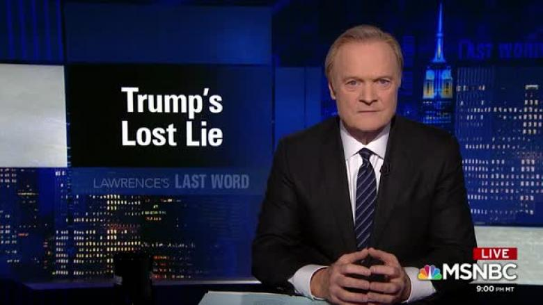 Lawrence Stomps NYTimes For Ignoring Trump's Worst 9/11 Lie