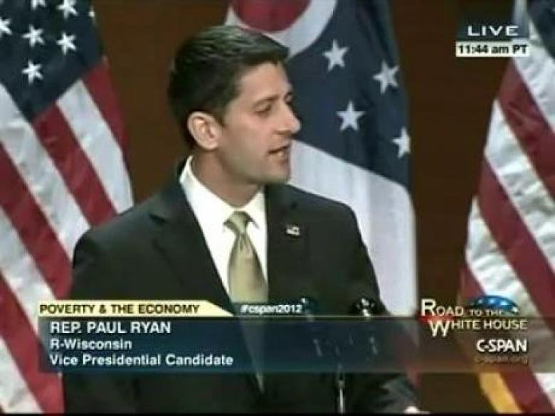 Paul Ryan's Poverty Plan: Cutting Government Assistance, And Jesus