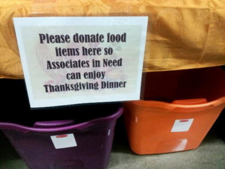 Walmart Employees Asked To Donate To Needy Co-Workers