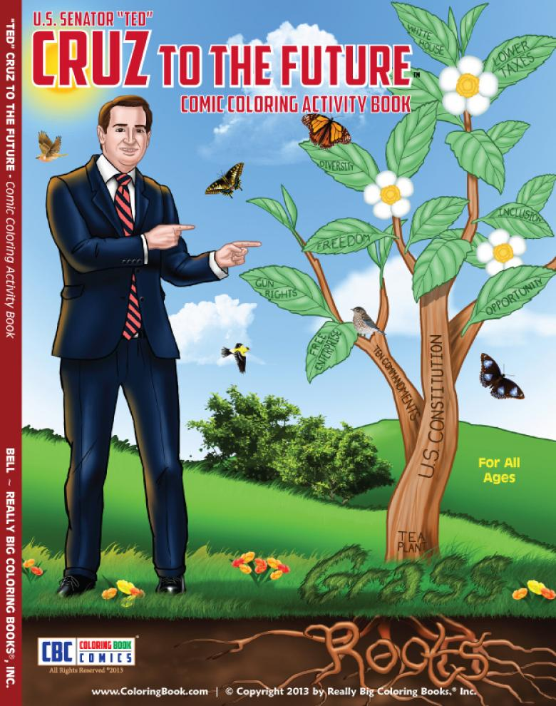 Ted Cruz's New Coloring Book Aims To Indoctrinate Children