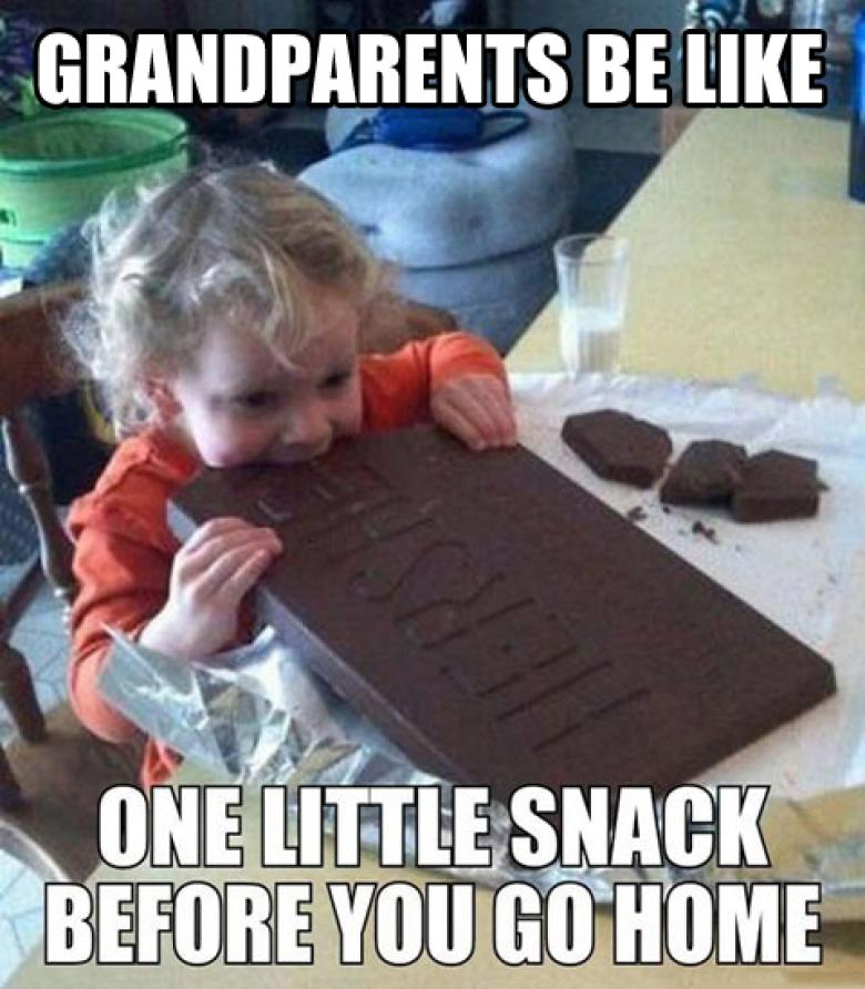 Open Thread - Watch Out For Grandparents!