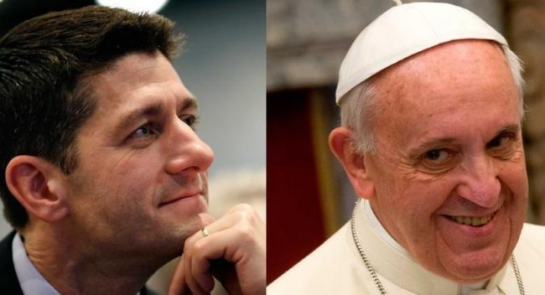 Paul Ryan: Pope Francis Doesn't Understand Capitalism Enough To Appreciate It