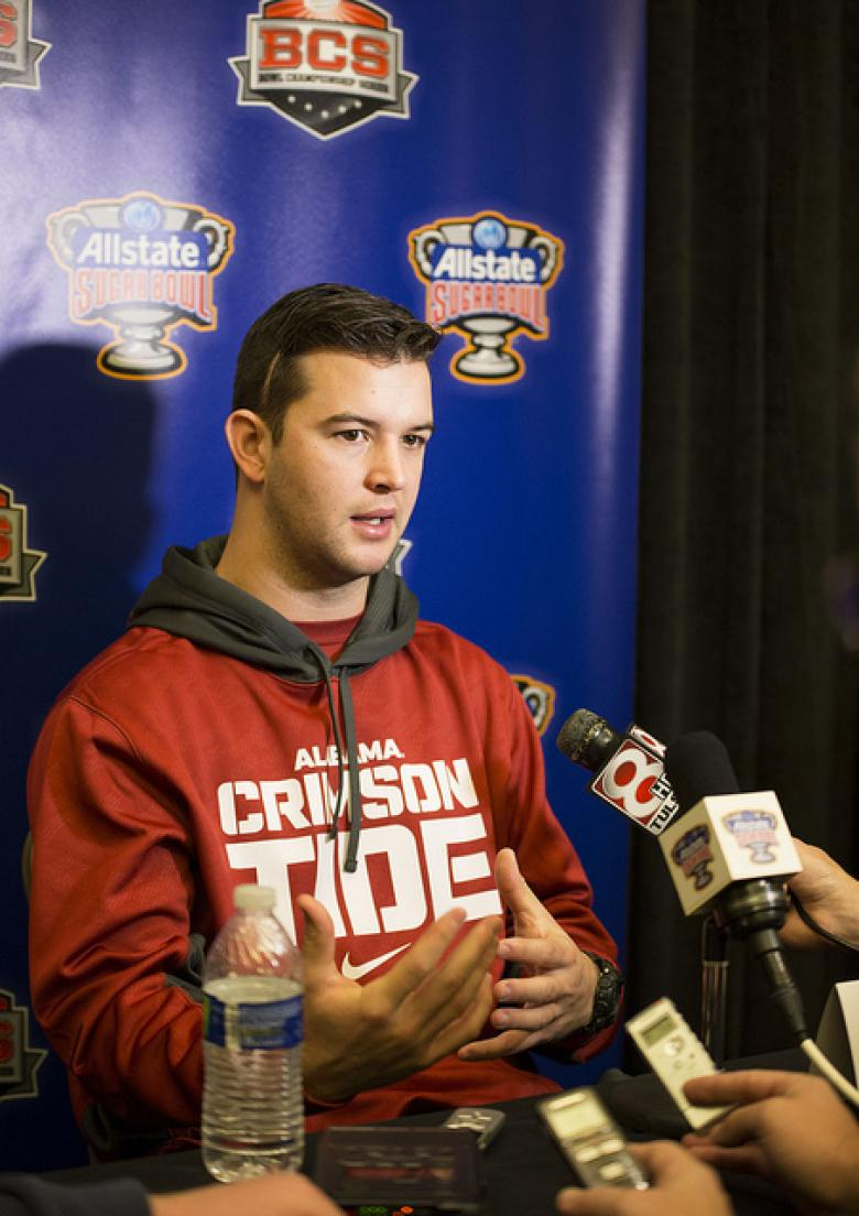AJ McCarron: 'I Truly Believe College Athletes Should Be Paid'