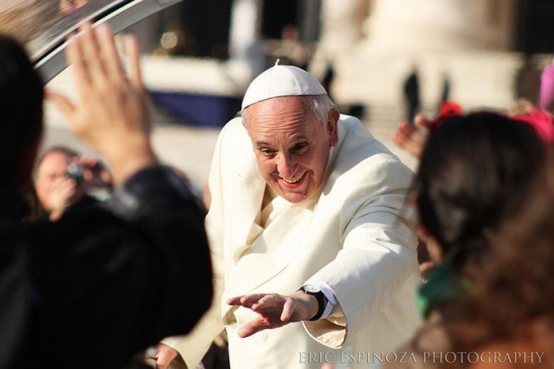 Pope To Davos Attendees: Use Your Wealth To Help Others