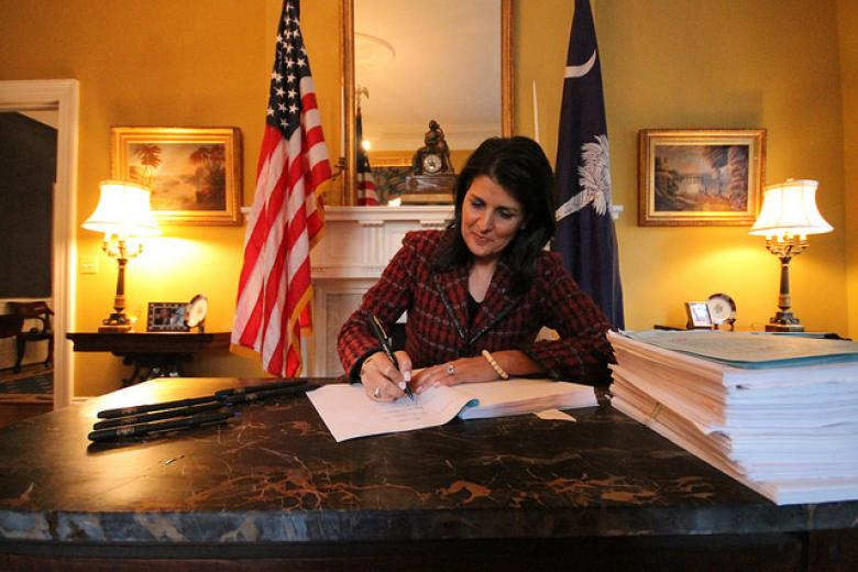 GOP Gov. Nikki Haley Is About To Make Taking Loaded Guns Into Bars Perfectly Legal In South Carolina