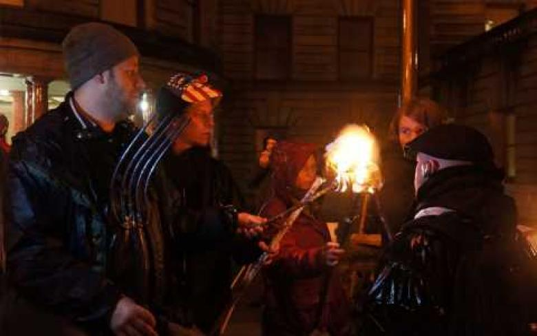 Portland Residents Protest Crackdown On Homeless With Torches And Pitchforks
