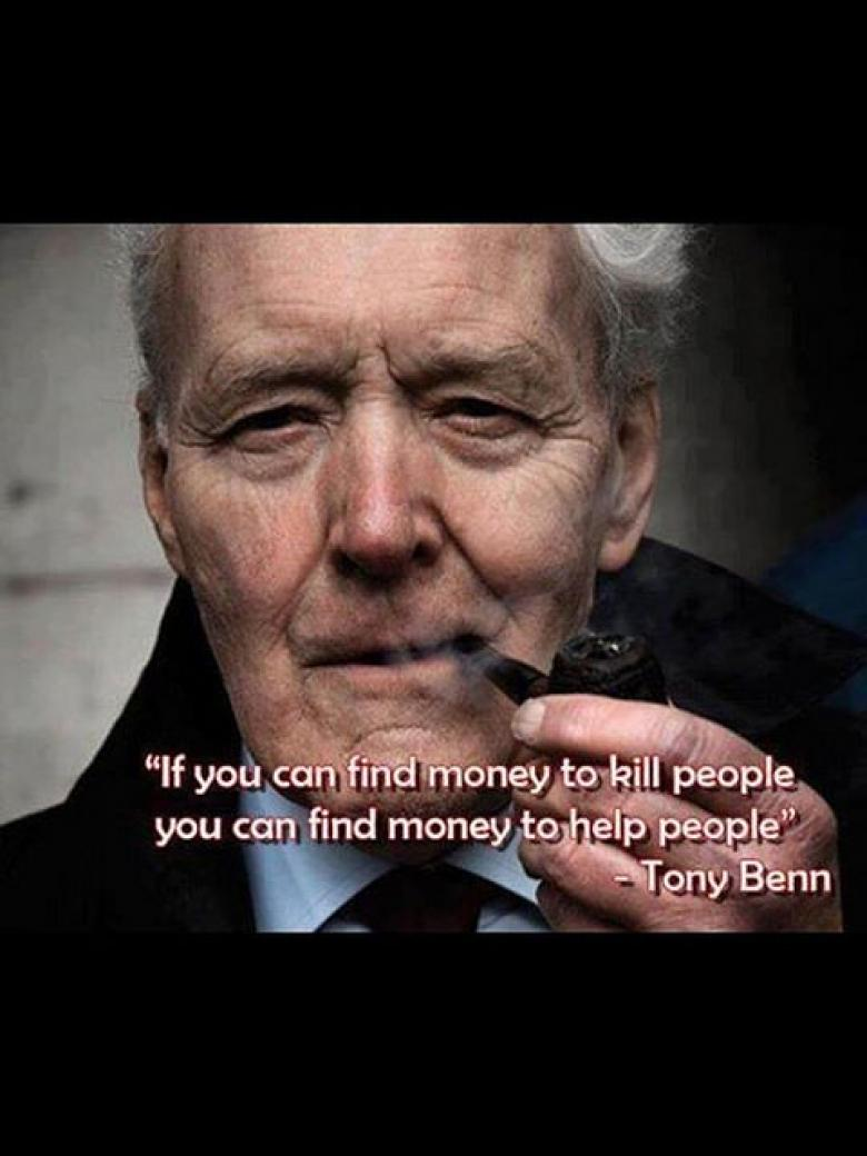 Remembering Tony Benn And His Five Little Questions