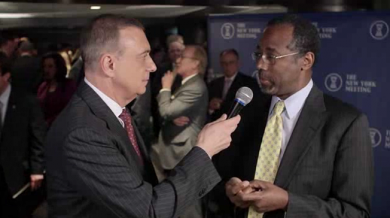 Ben Carson Says We're Living In America That Is Much Like 'Nazi Germany'