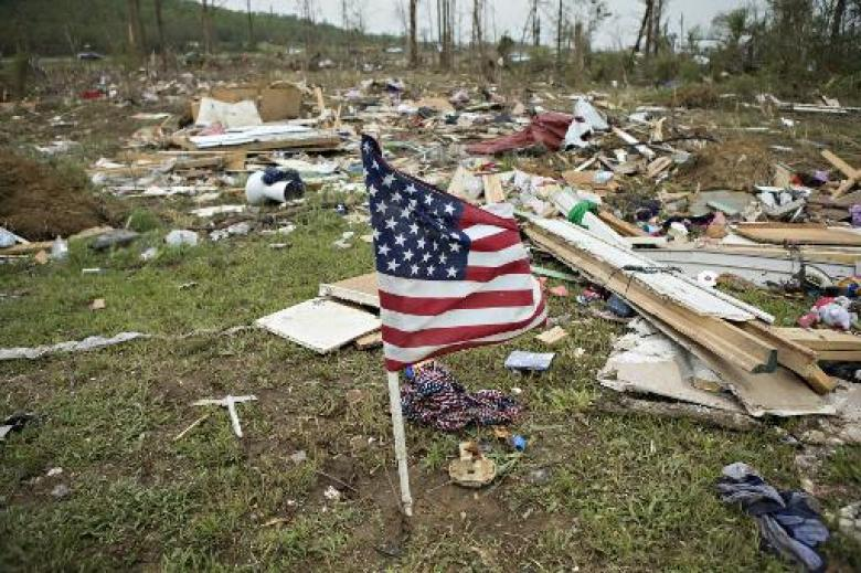 New Tornadoes Lash US South, 19 Killed In Two Days