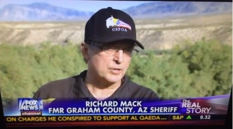 Richard Mack Claims Women Volunteered To Be Shields At Bundy Ranch