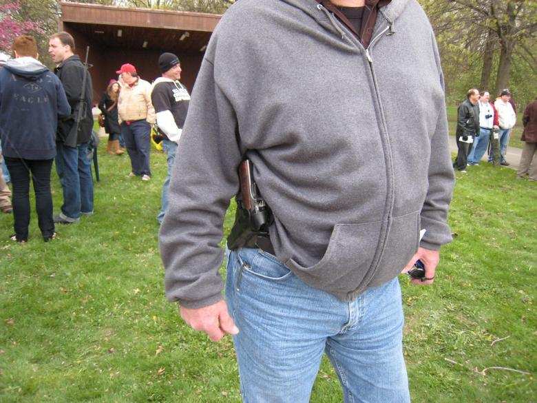 Man Second Amendments Himself While Trying To Conceal A Gun In His Pants From Police