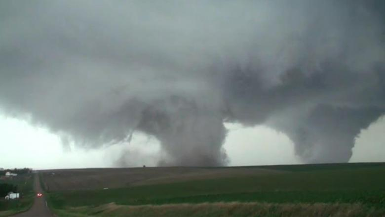 Video: Two Tornadoes Touch Down At The Same Time In Nebraska