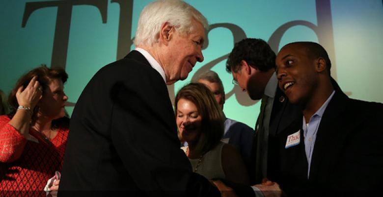 "Thad Cochran Conference Call Interrupted By Racist ""Blacks Picking Cotton"" Caller"