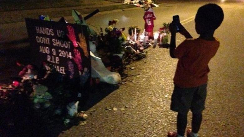 Ferguson Cops Let Police Dog Urinate On Brown Memorial Before Driving Over It