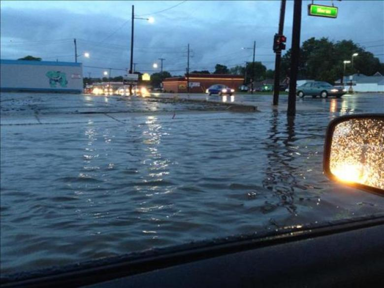 Detroit Metro Flooding Persists