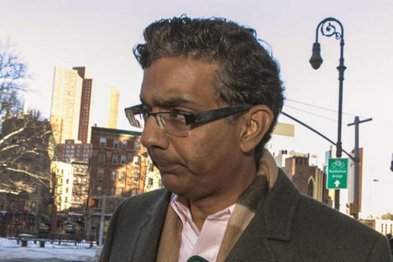 Convicted Felon Dinesh D'Souza Gets No Jail Time For Campaign Finance Law Violations