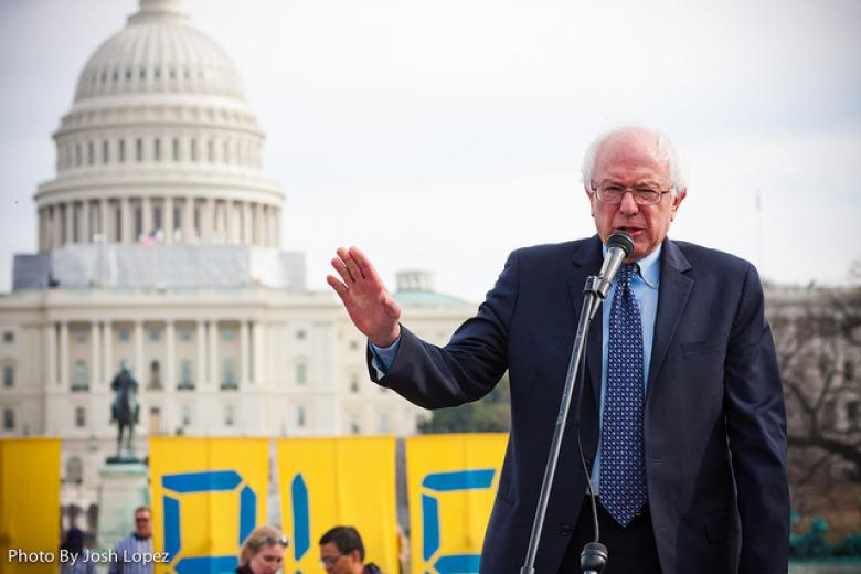 Bernie Sanders Goes There: 'We Need A Political Revolution In This Country'
