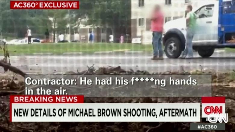 Witness To Michael Brown Killing In New Video: 'He Had His F*cking Hands Up!'