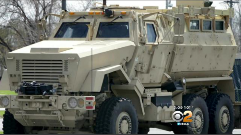 LA Schools Return Grenade Launchers, But Keep Armored Vehicle
