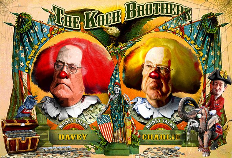 Koch Brother Allegedly Sent Deceptive Mailer To North Carolina Voters