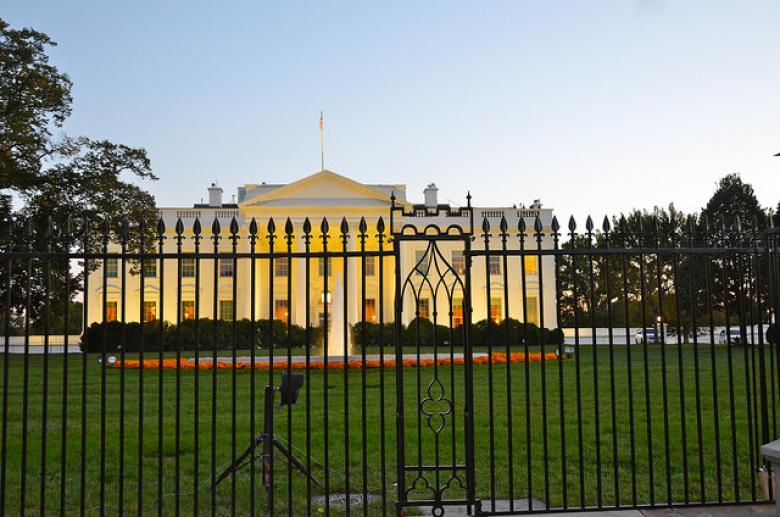 Another Day, Another White House Fence Jumper (Video)
