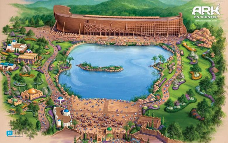 Noah's Ark Theme Park Loses $18M In Tax Breaks Unless They Hire Atheists