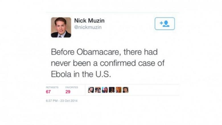 Stupid Right Wing Tweets: Ebola Edition