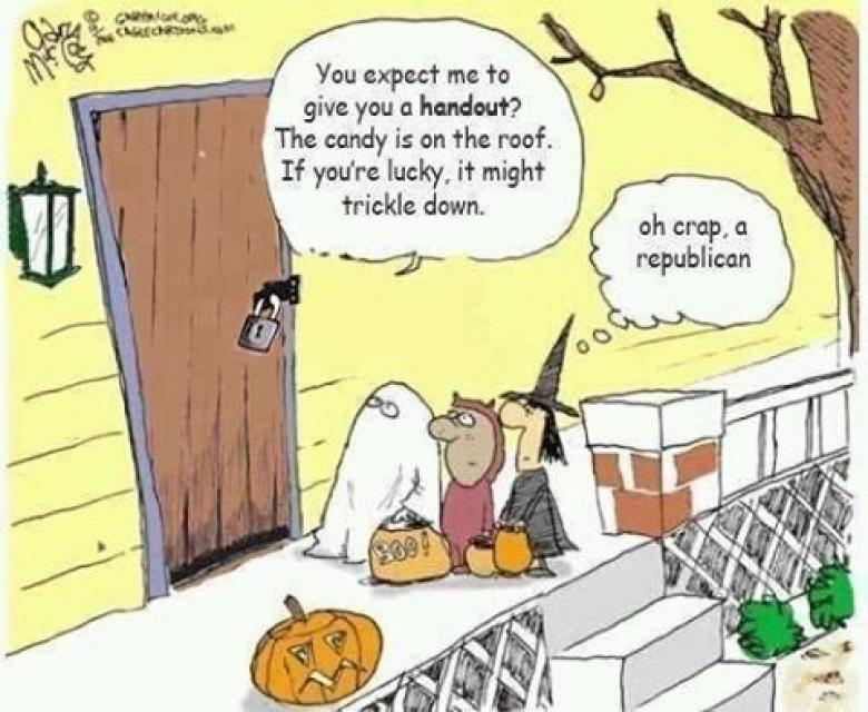 Open Thread - Old White People Complaining About Halloween?