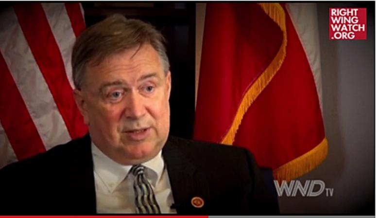 Rep. Steve Stockman Wonders If Obama Is Using Ebola To Take Over Government