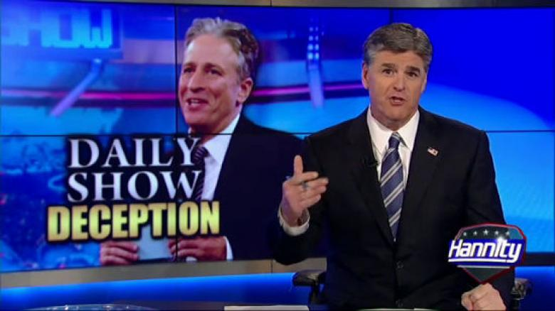 Hannity's Ratings Must Be Suffering, So He Tore Into Jon Stewart