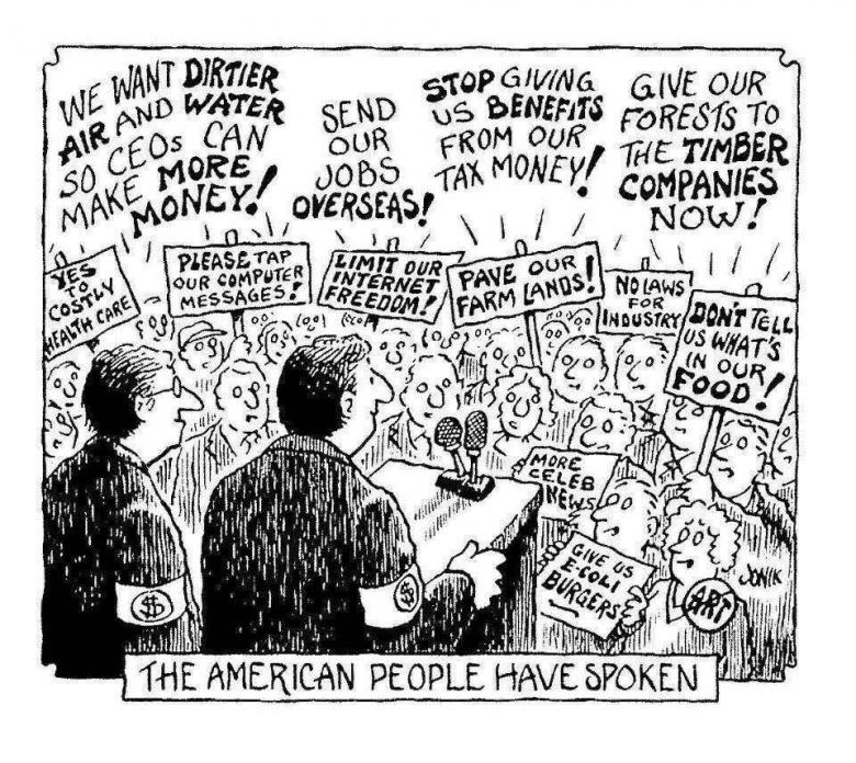 Open Thread - The People?  Have Spoken?