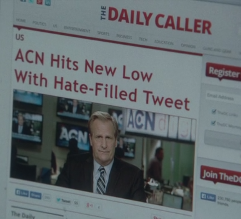 What's The Value Of TV Journalism? Analysis Of Episode Two Of The Newsroom