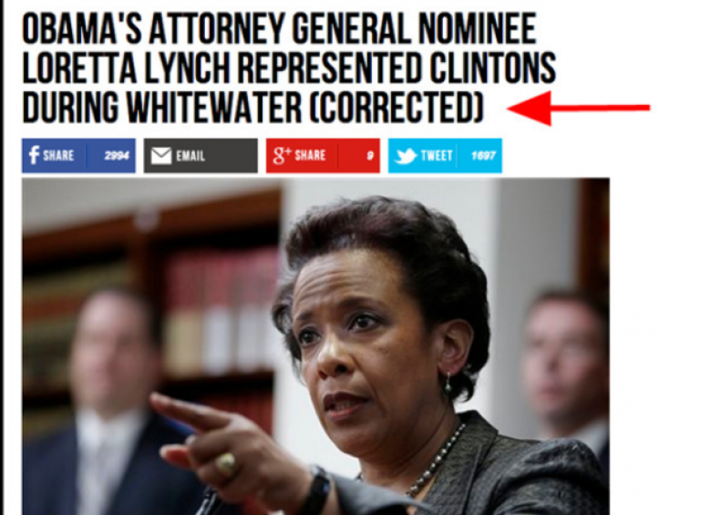 That Time Breitbart News Published Gotcha Article On AG Nominee, But Didn't Verify Identity