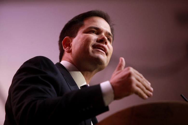 Marco Rubio, Still Covering All The Bases