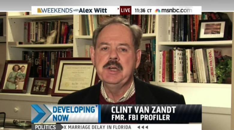 Clint Van Zandt Blames Protestors For NYPD Shootings On MSNBC