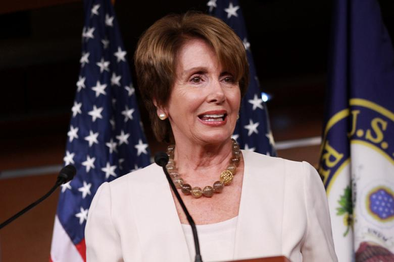 Pelosi Says Republican Bill Is 'Blackmail' For Wall Street Coverage