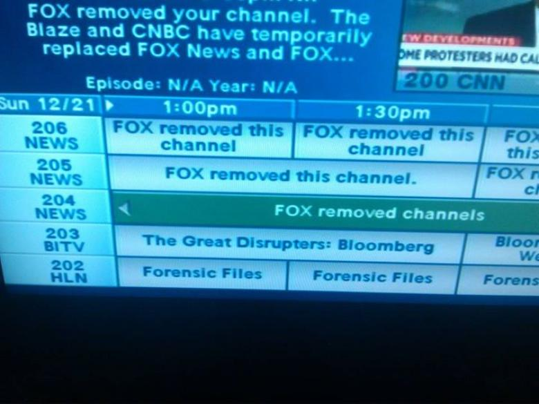 Fox Pulls Channels From Dish Network
