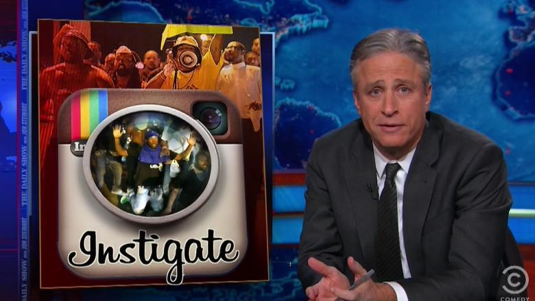 Jon Stewart Tears Into Race Baiters Over At Fox For 'Race Plagiarism' On Ferguson