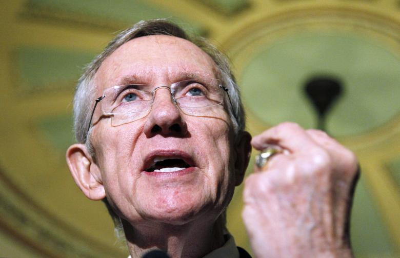 Harry Reid Injured In Freak Exercise Accident