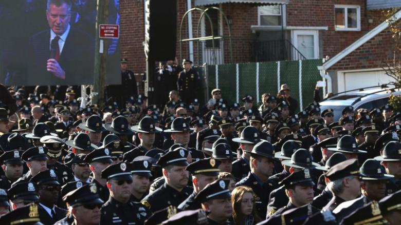NYPD Commissioner Issues Strong Warning Ahead Of Officer's Funeral