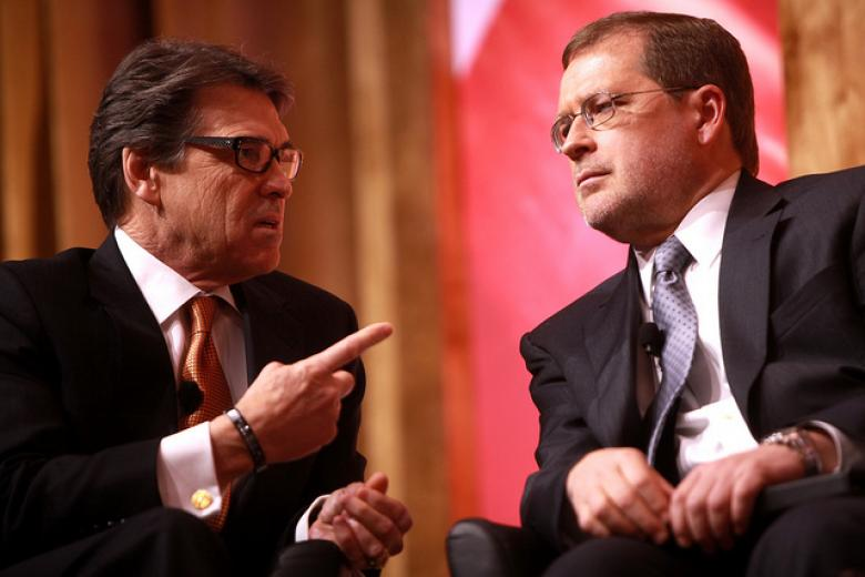 Yippy Little Anti-Tax Watchdog Grover Norquist Turns On Sam Brownback