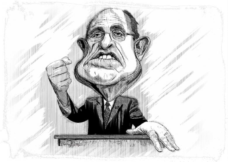 Giuliani On Obama: 'He Doesn't Love America'. No, Rudy, Not Like You! (Updated)