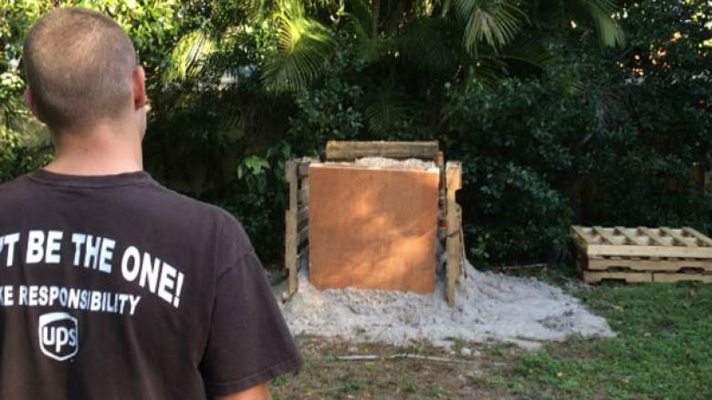 Florida Ammosexual Builds Homemade Shooting Range In His Front Yard