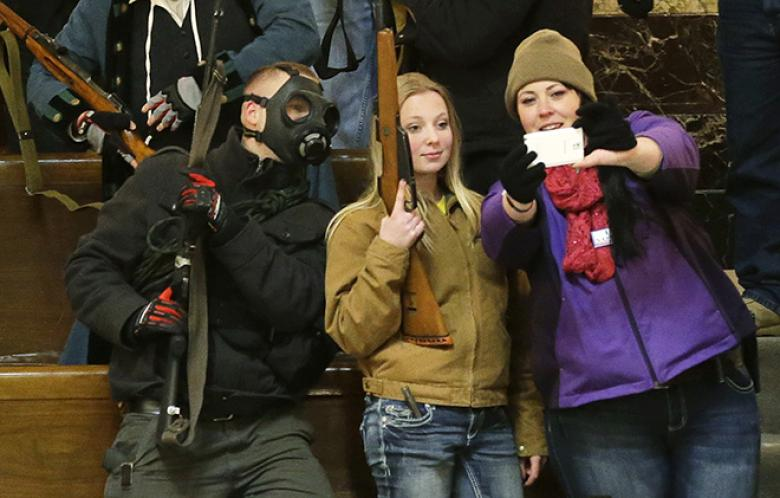 'Antigovernment' Gun Protesters Planning To Be Arrested In Washington Capitol