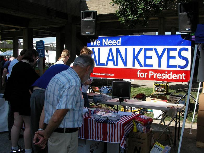 Someone Get Alan Keyes A Xanax, Stat!