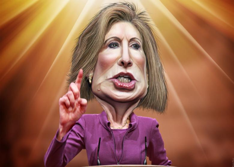 Carly Fiorina Vows To Neutralize Hillary's 'Gender Card'