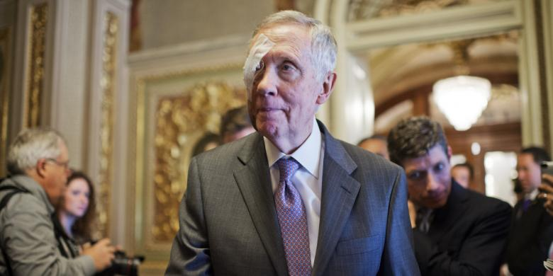 Punked! Harry Reid Conspiracy Theorist Duped By Bogus Story