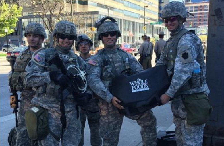 Whole Foods Feeds National Guard, Lets Hungry Kids In Baltimore Stay Hungry
