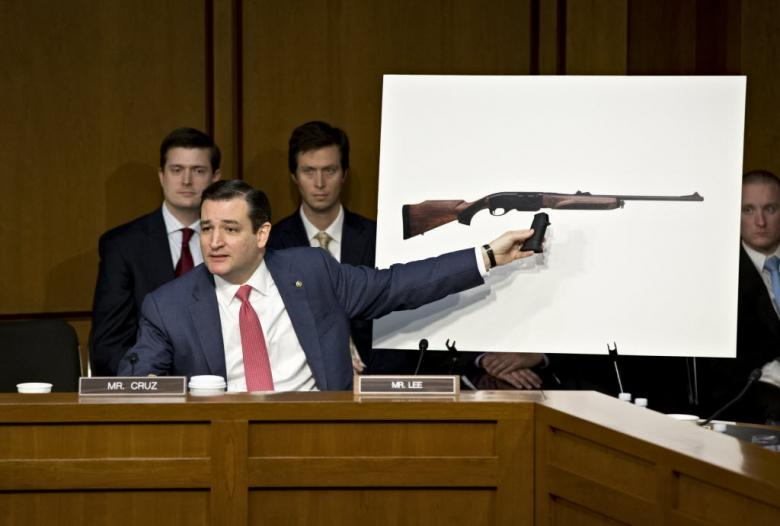 Ted Cruz Goes Full Fevered Militia On Government 'Tyranny'